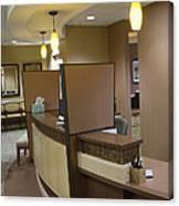 Office Reception Area Canvas Print