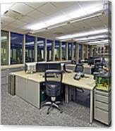 Office Work Stations Canvas Print