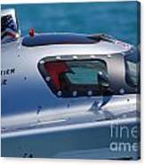 Offshore Racer Cockpit Canvas Print