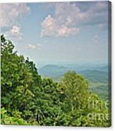 Oh Beautiful For Spacious Skies Canvas Print