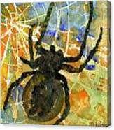 Oh What A Tangled Web We Weave Canvas Print