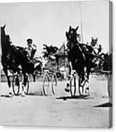Ohio: Horse Race, 1904 Canvas Print