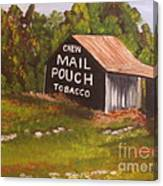 Ohio Mail Pouch Barn Canvas Print