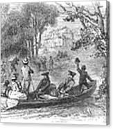 Ohio River: Emigrants Canvas Print