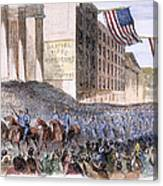 Ohio: Union Parade, 1861 Canvas Print