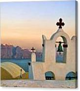 Oia In Santorini Canvas Print