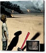 Oil Wars Canvas Print