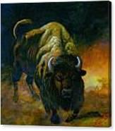 Oklahoma Rumble Canvas Print