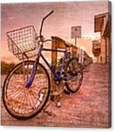 Ol' Bike Canvas Print