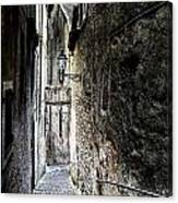 old alley in Italy Canvas Print