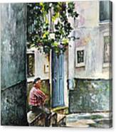 Old And Lonely In Spain 08 Canvas Print