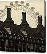 Old And New London Canvas Print