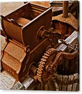 Old Apple Press 2 Canvas Print