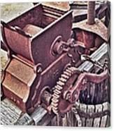 Old Apple Press 3 Canvas Print