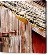 Old Barn Close Canvas Print