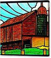Old Barn On Keezletown Road Canvas Print