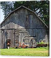 Old Barn South Of Brevard Canvas Print