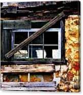 Old Barn Window 2 Canvas Print