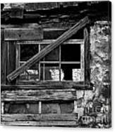 Old Barn Window Canvas Print