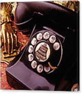 Old Bell Telephone Canvas Print
