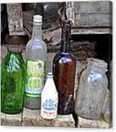 Old Bottle Canvas Print