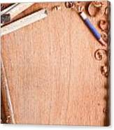 Old Carpentry Tools Canvas Print