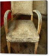 Old Chair Canvas Print