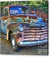 Old Chevy Canvas Print