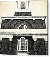 Old Church In Boston Canvas Print