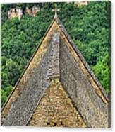 Old Church View Dordogne France Canvas Print