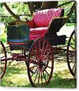 Old Coach In Effingham Canvas Print