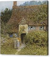 Old Cottage Witley Canvas Print