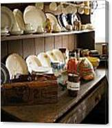 Old Country Kitchen Canvas Print