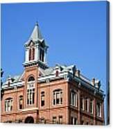 Old Courthouse Powhatan Arkansas 1 Canvas Print