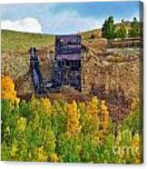 Old Cripple Creek Mine Canvas Print
