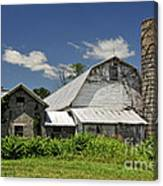 Old Dairy Barn 2 Canvas Print