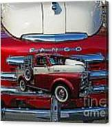 Old Fargo Pick Up Truck Canvas Print