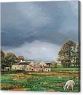 Old Farm - Monyash - Derbyshire Canvas Print