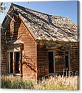 Old Farm Homestead - Woodland - Utah Canvas Print