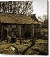 Old Fashioned Shed Canvas Print
