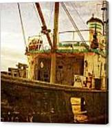 Old Fishing Trawler Canvas Print