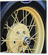 Old Ford Wheel Canvas Print