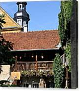 Old Franconian House Canvas Print