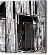 Old Frisco Barn Canvas Print