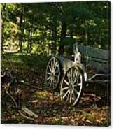 Old Frontier Wagon 1 Canvas Print