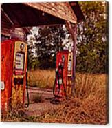 Old Gas Station 2 Canvas Print