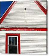 Old Gas Station Siding Canvas Print
