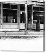 Old General Store Canvas Print
