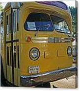 Old Gm Bus Canvas Print