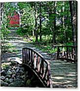 Old Grainery At Henry Park Canvas Print